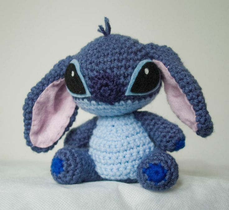 Amigurumi Stitch Free Pattern : Stitch amigurumi!!!!. Amigurumis Pinterest