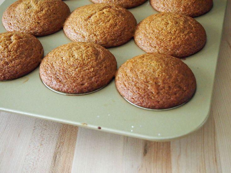 Lemon Gingerbread Muffins #MuffinMonday