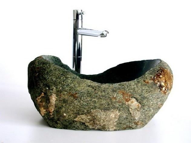Stone Basin Sink : stone basin - love this