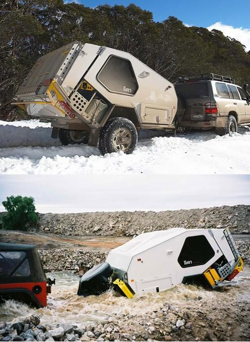 Off Road Trailer Camping Pinterest