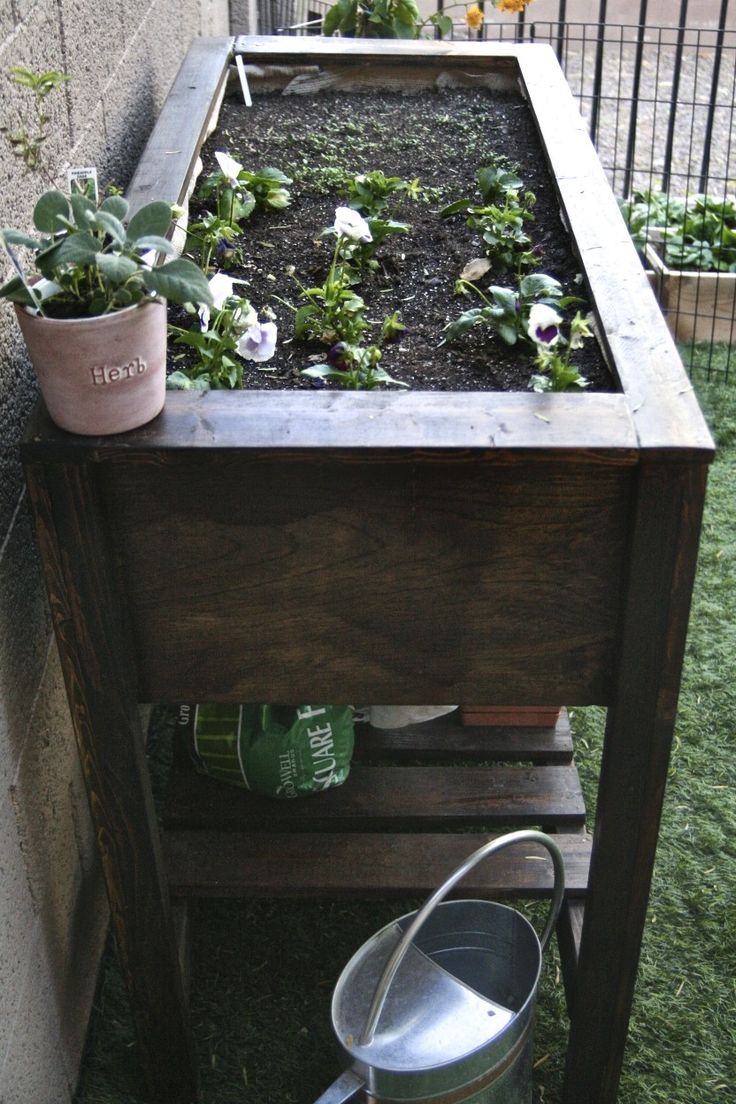 diy raised garden bed do it yourself home pinterest