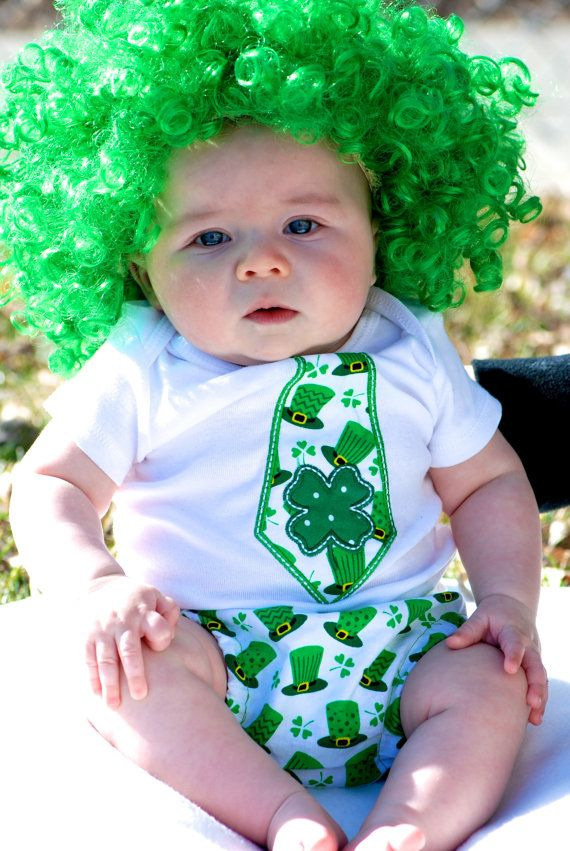 Saint Patrick s day baby outfit Irish Baby outfit Baby