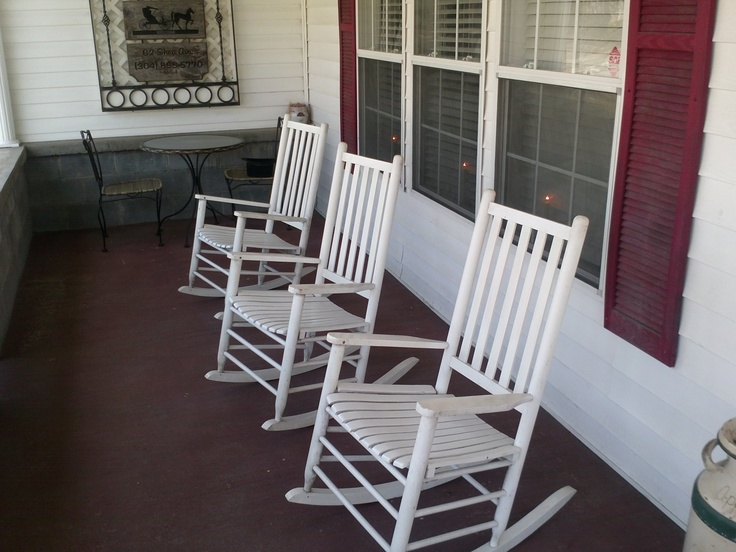 are located in a 1920s farmhouse where you can sit in a rocking chair ...