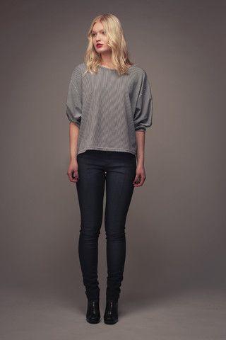 Blair Batwing Shirt (Selfish Sewing Week - day 1) - Behind