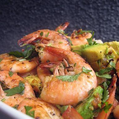 peel and eat shrimp with fried garlic camarao ao alho shrimp butternut ...