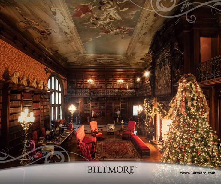 Biltmore house want to go there at christmas time one day