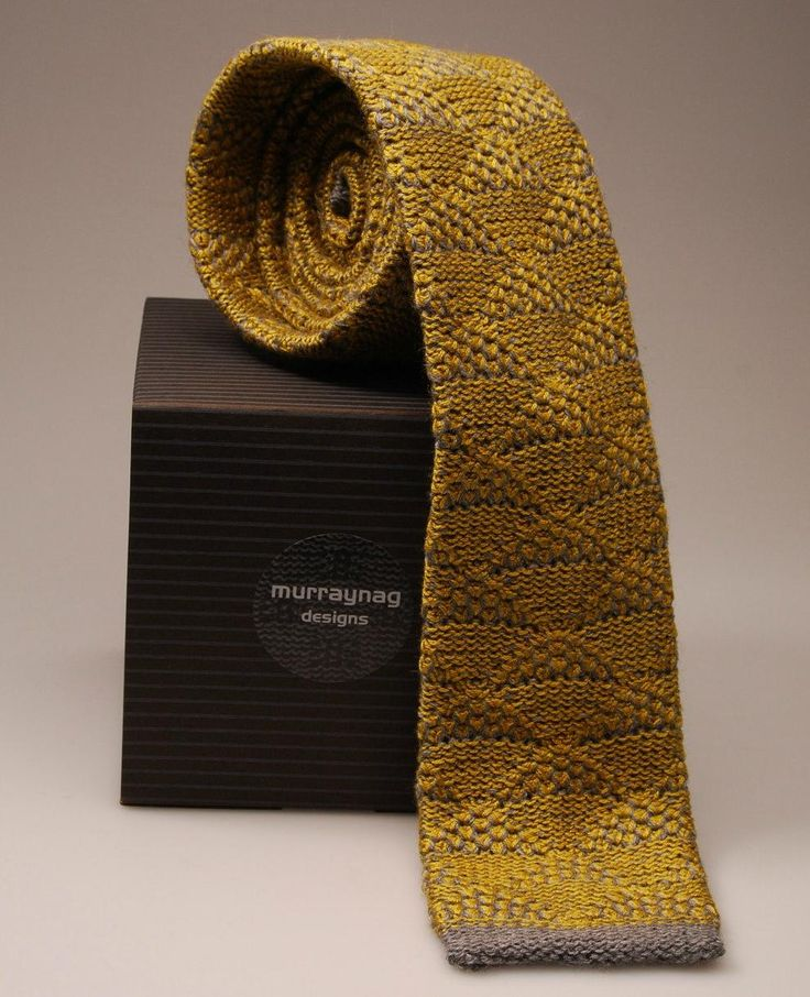 Mens Tie Knitting Pattern : Mens Knit Tie Knit 1 Purl 1 Pinterest