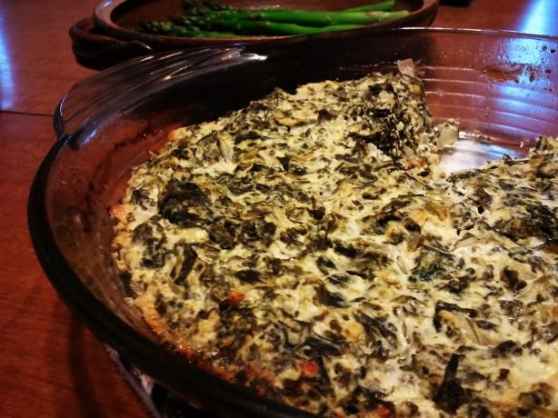 Crustless Spanakopita - I make my own version all the time - yummy!