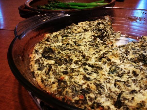 Crustless Spanakopita - I make my own version all the time - yummy!
