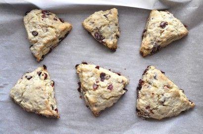 Cranberry Almond Scones with Sweet Orange Glaze | Tasty Kitchen: A ...