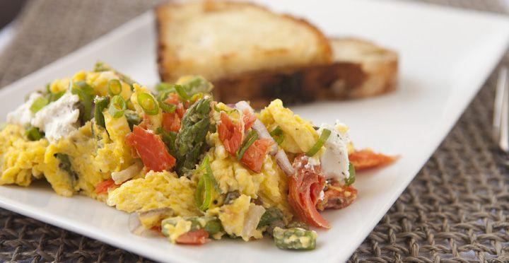 Smoked Salmon Scrambled Eggs | Recipe