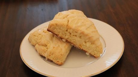 Glazed Orange Scones-A delicious pastry that can be eaten for ...