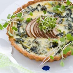 Swiss Chard, Pear, And Gruyere Tart Recipes — Dishmaps