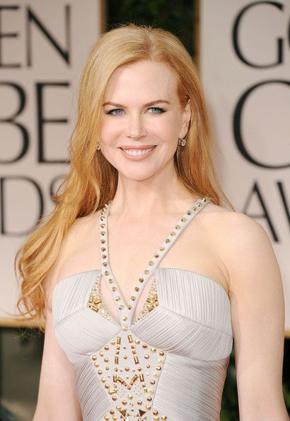 Nicole Kidman's lighter strawberry blonde
