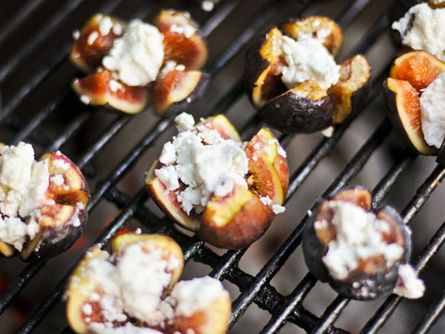 Grilling: Figs Stuffed with Goat Cheese | Serious Eats : Recipes