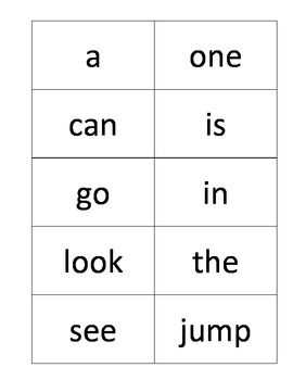 Sight words flash cards printables | David | Pinterest