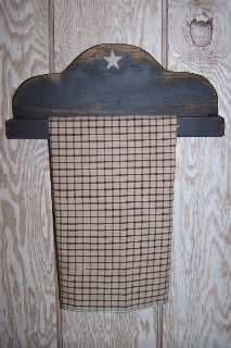 DIY Build your own primitive towel rack