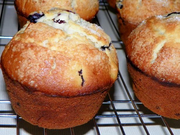Joyously Jumbo Blueberry Muffins Regular Size Adaptable) Recipe - Food ...