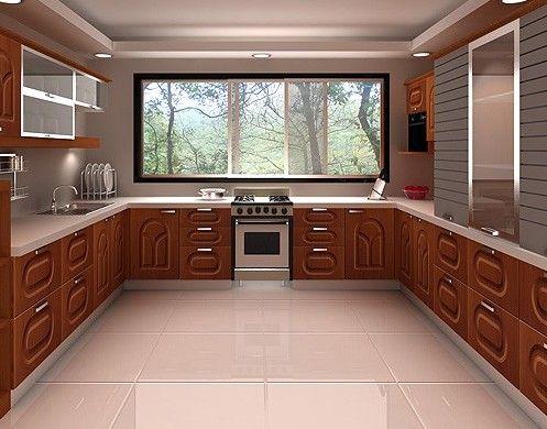 U shaped kitchen floor plans kitchen pinterest for Kitchen designs u shape