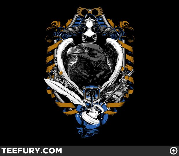 Ravenclaw t-shirt. This will be in my mail any day now.