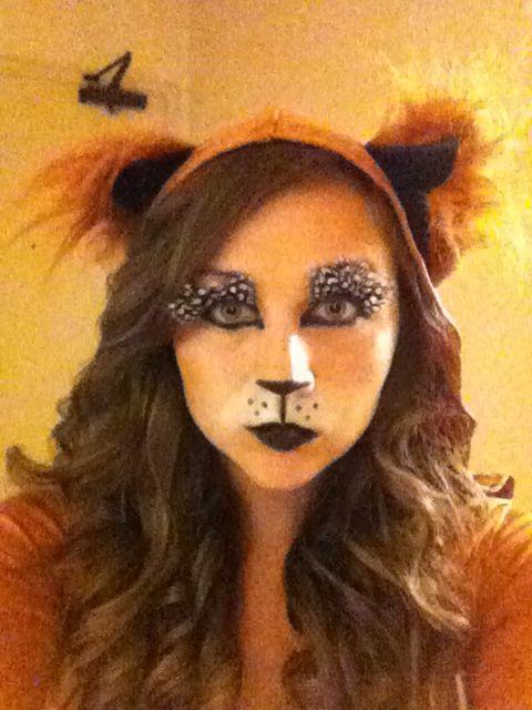 Fox makeup : Halloween : Pinterest