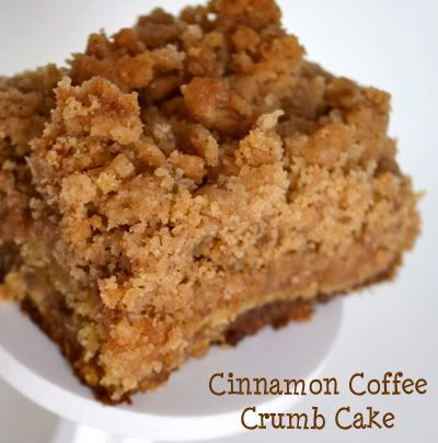 Cinnamon Coffee Crumb Cake | Breakfast and Brunch | Pinterest