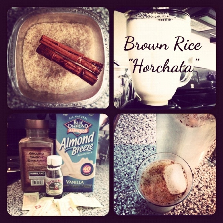 "How to make brown rice ""horchata"" via www.miDailyDiet.com"
