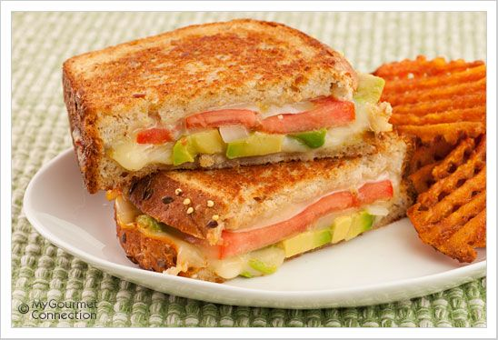 and Pepper Jack Sandwich: A twist on a classic grilled cheese sandwich ...