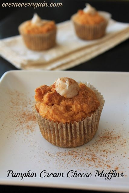 Pumpkin Cream Cheese Muffins | Punkins, Punkins, Punkins | Pinterest