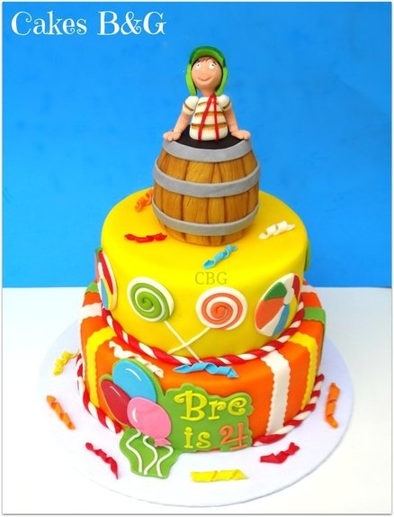 El Chavo Del 8  By Cakesbg CakesDecorcom Cake Decorating Website