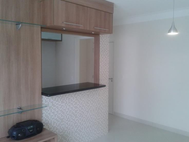 Abertura sala cozinha