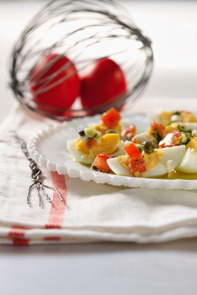 Mustard-Caper Vinaigrette Recipe — Dishmaps