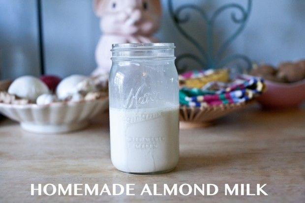 MAMA HUSSY homemade almond milk [recipe] | food bliss | Pinterest