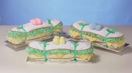 baby shower sandwiches gift giving pinterest