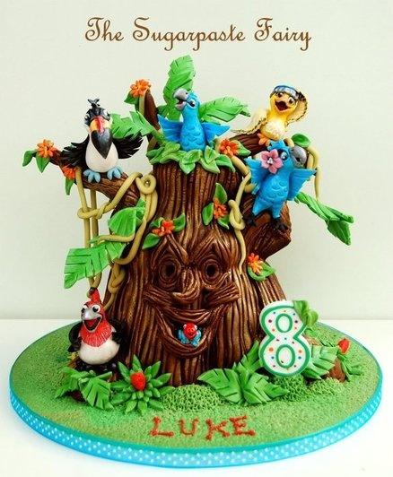 Rio /  Rio 2 cake ideas