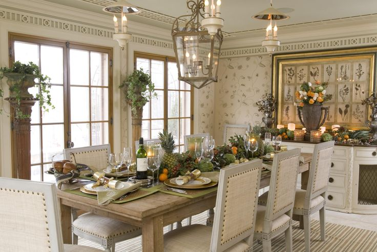 French Country Dining Room French English Country Deco