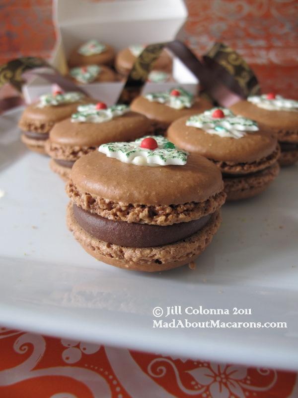 Christmas-macarons   Winter Wonderland   Pinterest