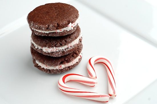 Chocolate Candy Cane Cookies | Deserts | Pinterest