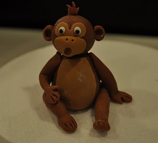 fondant monkey tutorial