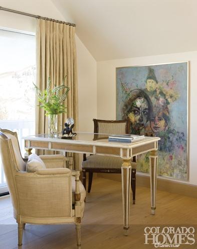 Shahram karimi painting drama color clean elegant interior design