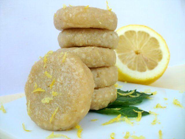 Lemon Icebox Cookies | Raw Food: Desserts - Cookies, Bars & Brownies ...