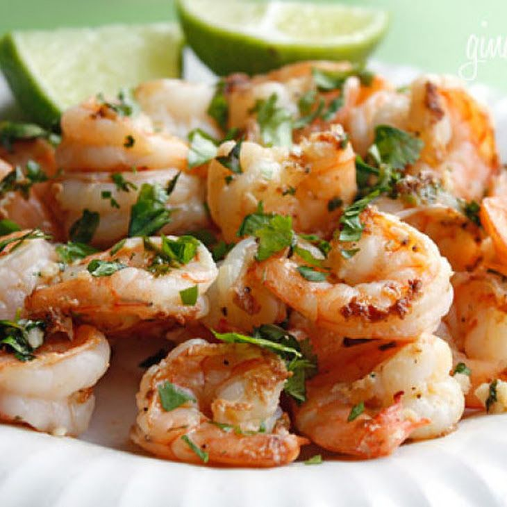 Cilantro Lime Shrimp Recipe — Dishmaps