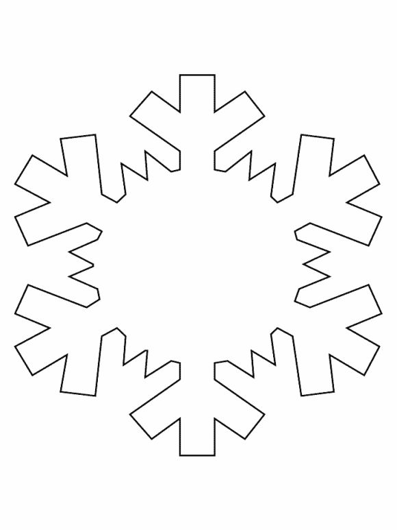 winter easy coloring pages - photo#35
