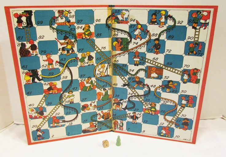 ... Chutes & Ladders; snakes & ladders | Game Boards - Snakes & Ladders