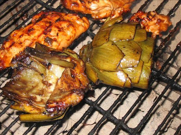 Grilled Artichokes | Recipe