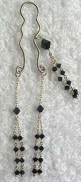 My beautiful birthday gift in emerald - Inner Labia Jewellery from Hidden Delites