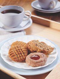 Whole Grain Peanut Butter Sandies | Sweet Treats | Pinterest