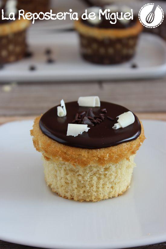 Boston Cream Cupcakes | Lo más dulce | Pinterest