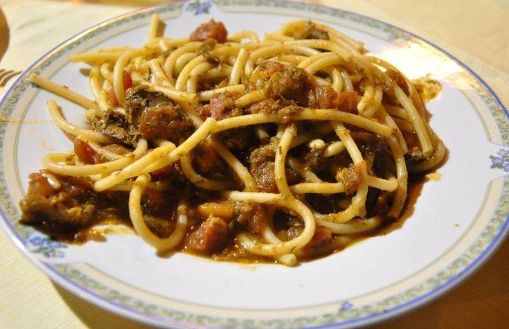 Pasta con Le Sarde (Pasta with Sardines) recipe