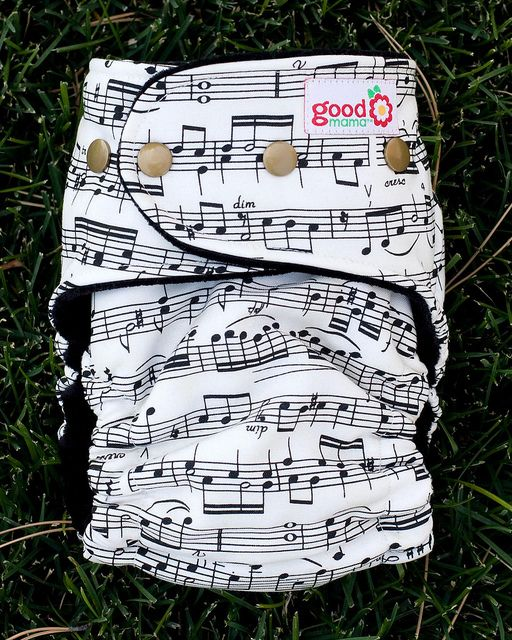 sheet music diaper